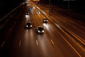 Night motorway — Stock Photo