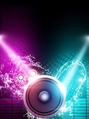 Music party Background — Stock fotografie