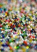 Glitter beads — Stock Photo