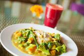 Vegetarian meal — Stock Photo