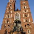 Stock Photo: St. Mary's Church, famous landmark in Krakow
