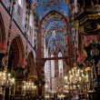 St. Mary's Church, famous landmark in Krakow — Stok fotoğraf