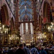 St. Mary's Church, famous landmark in Krakow - Stock Photo