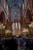 St. Mary's Church, famous landmark in Krakow — Stock Photo