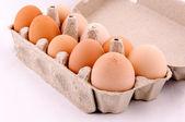 Egg box — Stock Photo