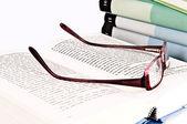 Reading a books — Stock Photo