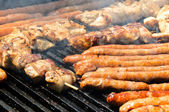 Grill sausage — Stock Photo