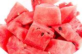 Watermelon pieces — Stock Photo