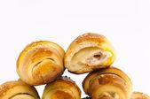 Croissant slice — Stock Photo