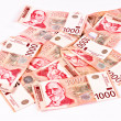 Thousand dinars — Stockfoto
