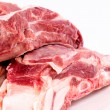Fresh raw pork — Stock Photo