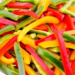 Peppers slices — Stock Photo