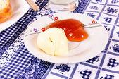 Mantequilla y mermelada — Foto de Stock