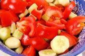 Grönsaker sallad — Stockfoto