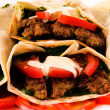 Bunch of gyros - Stock Photo