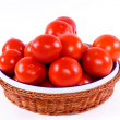 Stock Photo: Tomatoe basket