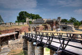Puente kalemegdans — Foto de Stock