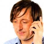 Businessman talking on mobile — Stock Photo #11622791