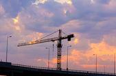 Construction bridge — Stock Photo