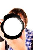 Blank lens — Stock Photo