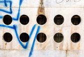 Concrete hole — Stock Photo
