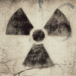 Stock Photo: Radioactive graffit