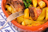 Een gastronomische maaltijd — Stockfoto