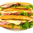 Sandwich isolated - Stock Photo