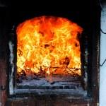 Indoor fire — Stock Photo #11953600