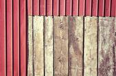 Wood and metal — Stock Photo
