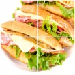 Royalty-Free Stock Photo: Fresh sandwich