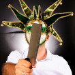 Masked Maniac — Stock Photo #12098437
