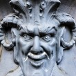 Devil sculpture — Stock Photo