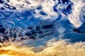 Cielo dramático — Foto de Stock