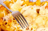 Macaroni with cheese — Stock Photo