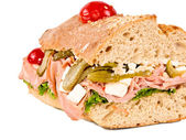 Closeup sandwich — Stock Photo