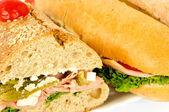 Two sandwiches — ストック写真