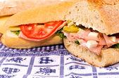 Sandwich meal — Stock Photo