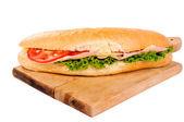 Yummy sandwich — Stock Photo