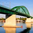 Old tram bridge — Stock Photo #12281525