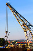 Ship crane — Stock Photo