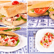 Yummy sandwiches — Stock Photo #12324728