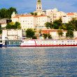 Belgrade harbor — Stock Photo