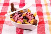 üzüm ve dondurma — Stok fotoğraf