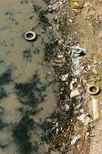 Su kirliliği — Stok fotoğraf