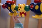 Bebê com brinquedos — Foto Stock
