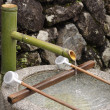 Stock Photo: Fresh water in japanese well