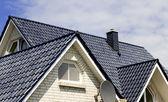 Detalhes de telhado — Foto Stock