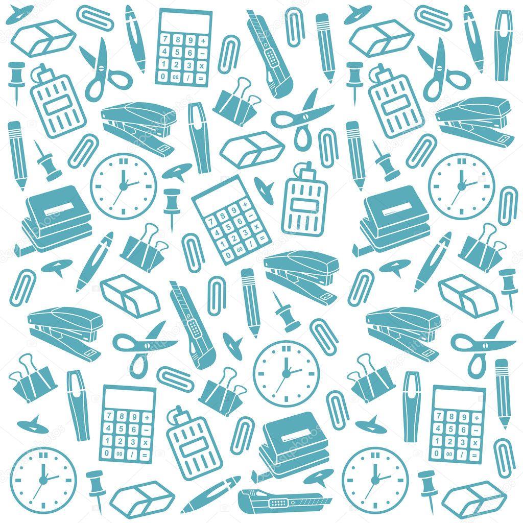 Material de oficina fondo transparente vector de stock for Material de oficina precios