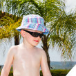 Little boys enjoying their summer holiday — Stock Photo